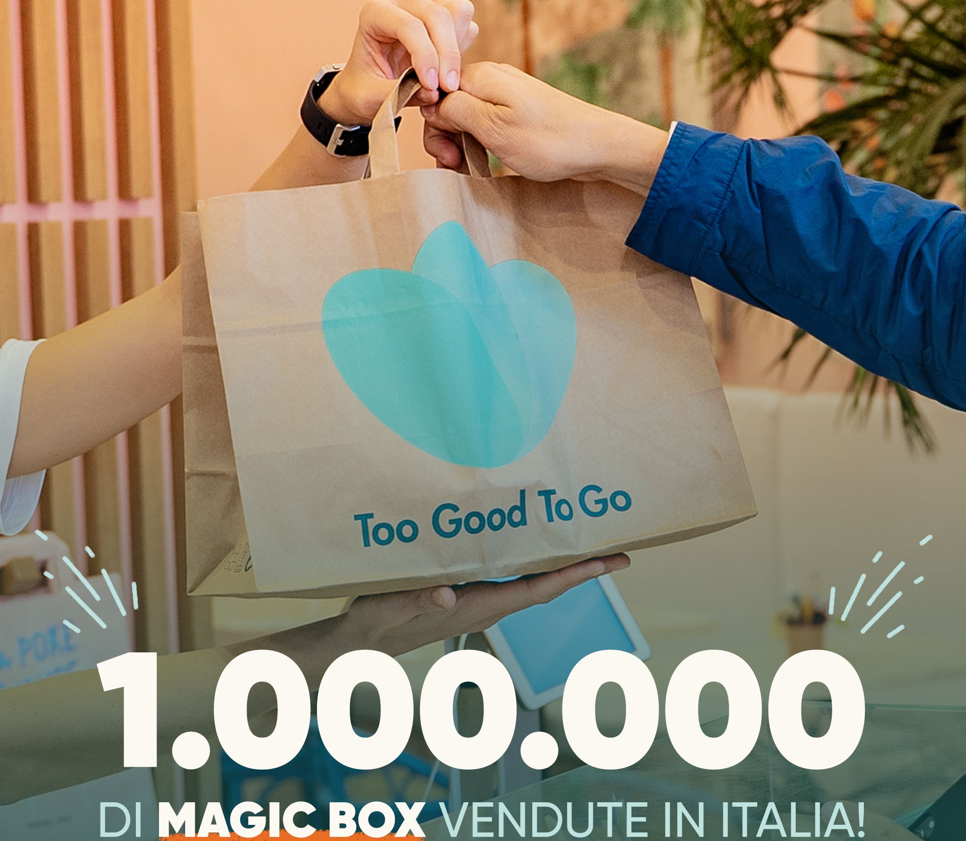 Too Good To Go: vendute 1 milione di Magic Box